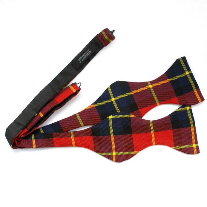 University Tartan Self Tie Bow Tie